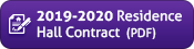 2019-2020 Sample Residence Hall Contract (PDF)