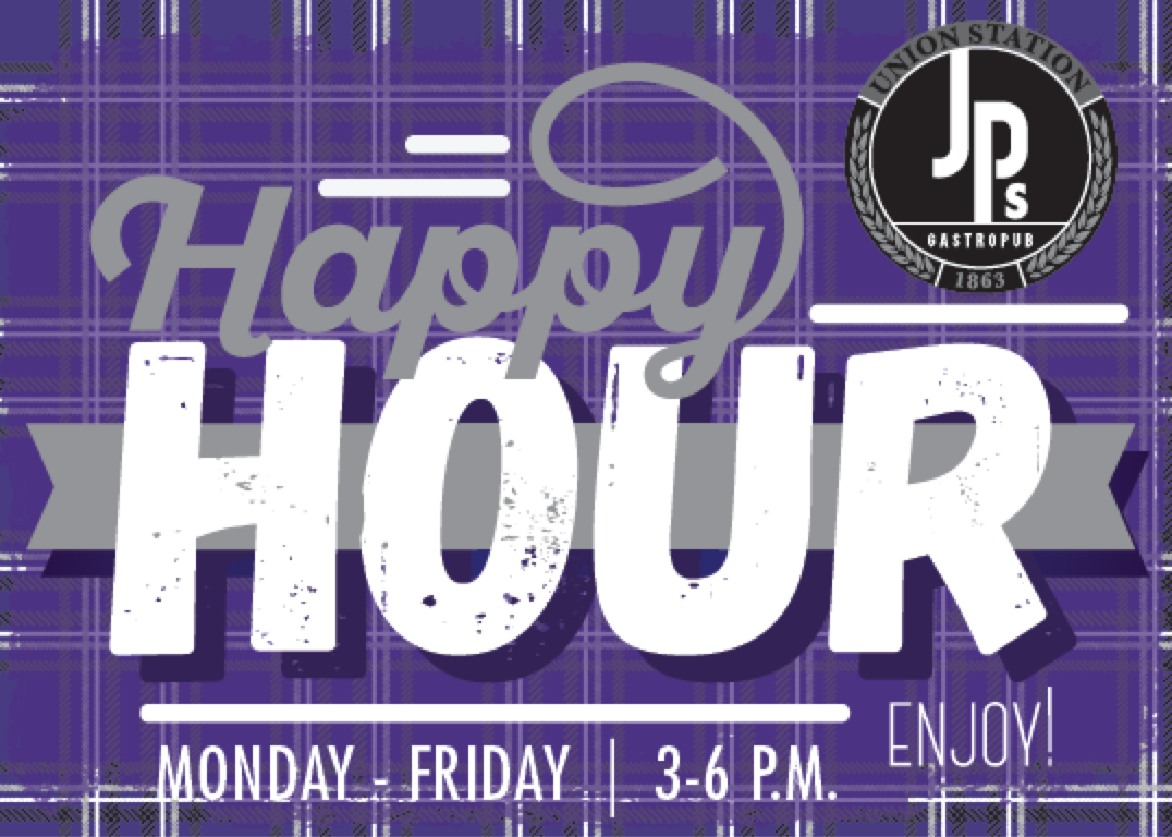 Union Station Happy Hour Menu