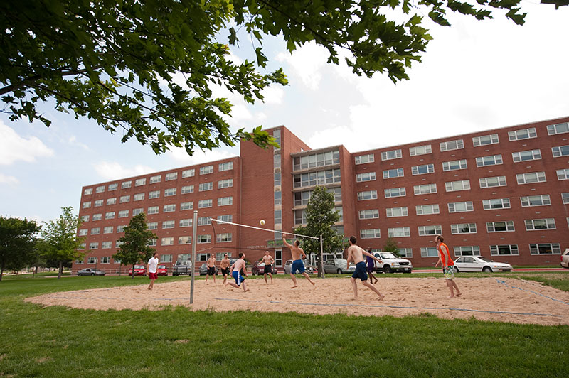 Goodnow Hall Kramer Complex Residence Halls Housing