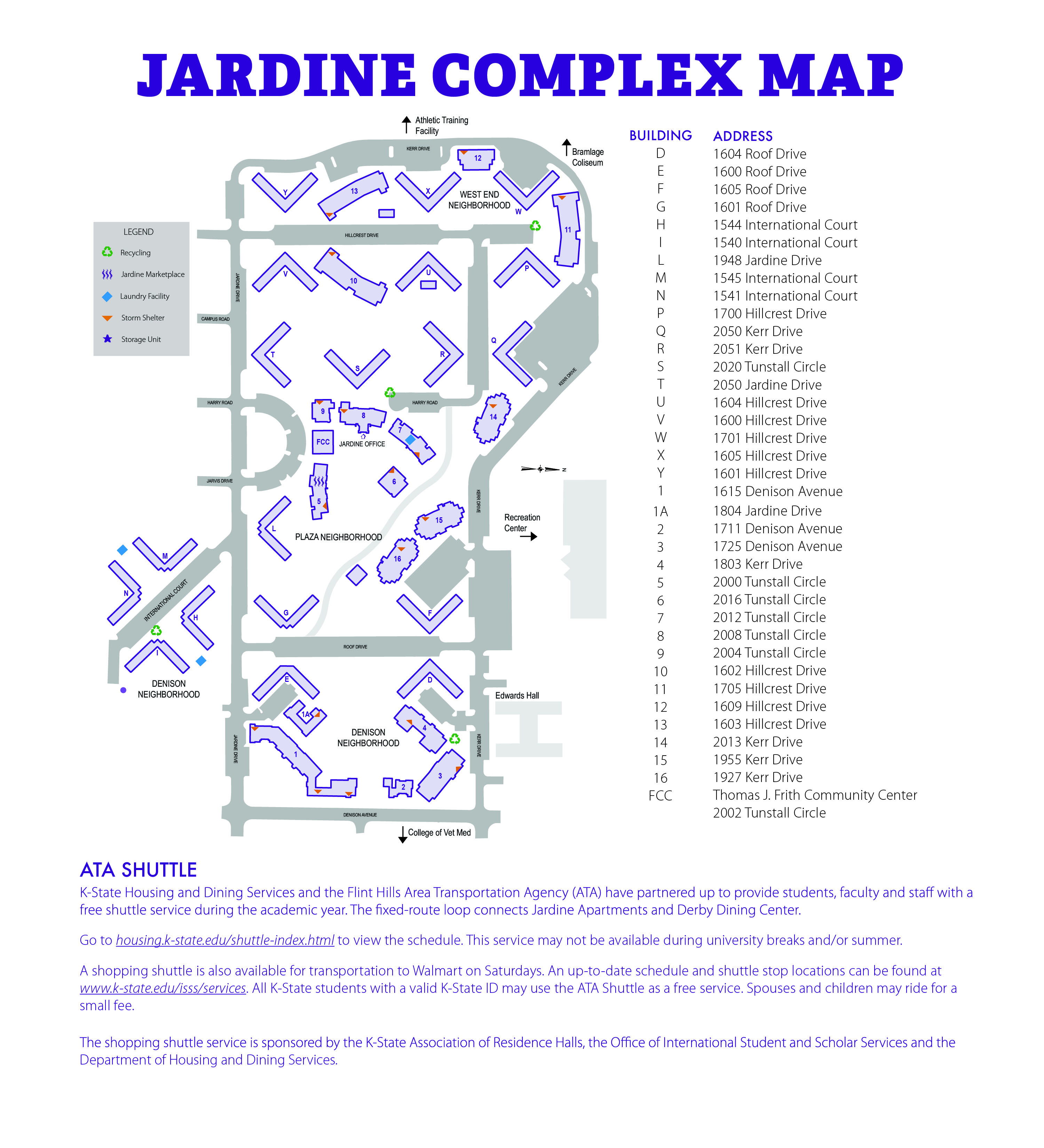 Jardine Apartments: Housing And Dining
