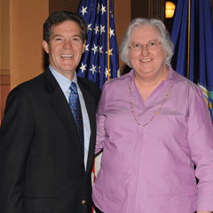 Mary Molt and Brownback