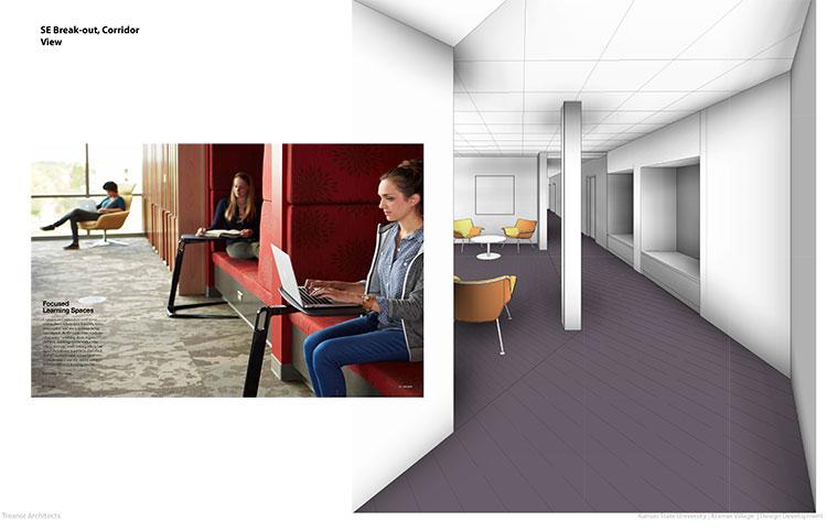 Lounge Breakout Southeast Corridor