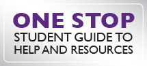 One Stop: Student Guide to Help and Resources